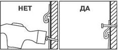 Вбивание гвоздей или скобы