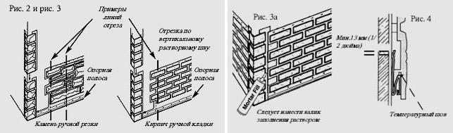 Инструкция по монтажу фасадных панелей своими руками