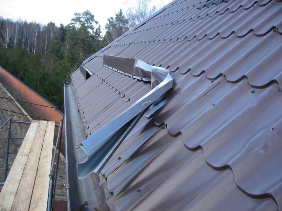 Как и из чего сделать снегозадержание на крыше 830