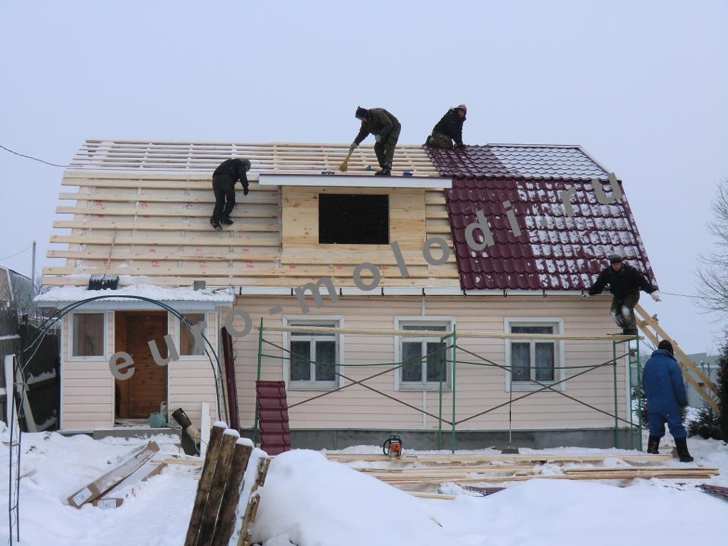 капитальный ремонт дома работы