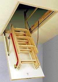 ГрандСтрой - чердачные лестницы