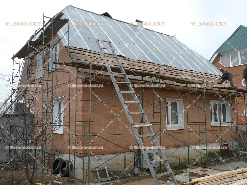 смета по строительстве крыши из металлочерепицы ориентировочные размеры